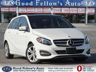 2018 Mercedes-Benz B250 4MATIC, PAN ROOF, LEATHER SEATS, REARVIEW CAMERA