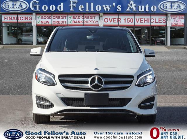 2018 Mercedes-Benz B250 4MATIC, PAN ROOF, LEATHER SEATS, REARVIEW CAMERA Photo2