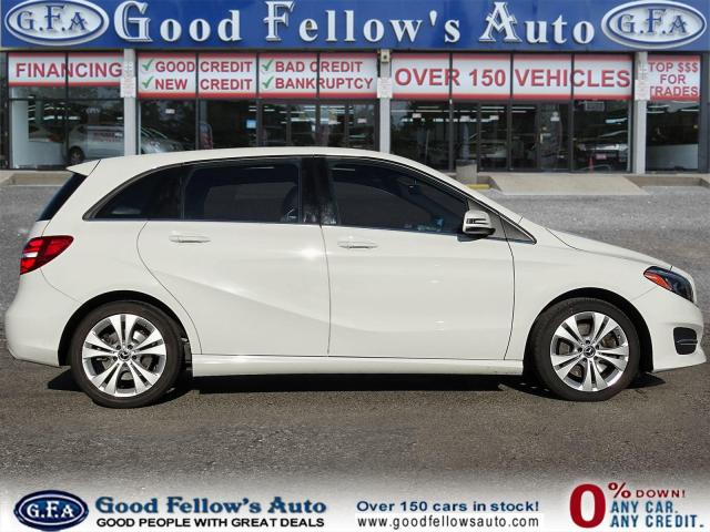 2018 Mercedes-Benz B250 4MATIC, PAN ROOF, LEATHER SEATS, REARVIEW CAMERA Photo3