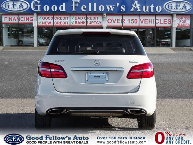 2018 Mercedes-Benz B250 4MATIC, PAN ROOF, LEATHER SEATS, REARVIEW CAMERA Photo4