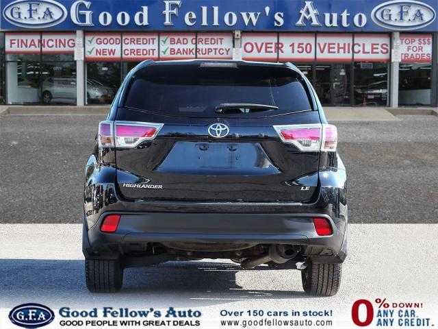 2016 Toyota Highlander LE MODEL, 8 PASSENGER, REARVIEW CAMERA, BLUETOOTH Photo4