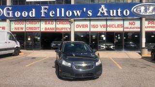 Used 2013 Chevrolet Cruze LT MODEL, 1.4L TURBO 4CYL, BLUETOOTH for sale in Toronto, ON