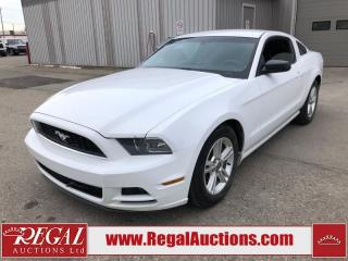 Used 2014 Ford Mustang Base 2D Coupe AT 3.7L for sale in Calgary, AB