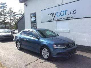 Used 2017 Volkswagen Jetta Wolfsburg Edition SUNROOF.  A/C. POWERGROUP. HEATED SEATS. for sale in Richmond, ON