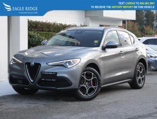 Used 2018 Alfa Romeo Stelvio Navigation, Leather, Heated Seats for sale in Coquitlam, BC