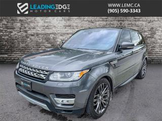 Used 2017 Land Rover Range Rover Sport DIESEL Td6 HSE Navigation, Drive Assist, Climate Seats for sale in King, ON