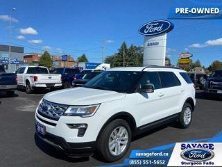 Used 2018 Ford Explorer XLT  - One owner - Ex-lease - $234 B/W for sale in Sturgeon Falls, ON