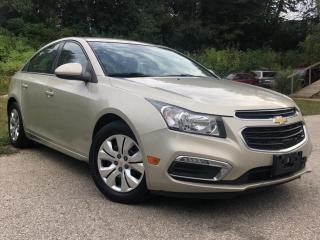 Used 2015 Chevrolet Cruze 4dr Sdn 1LT for sale in Waterloo, ON