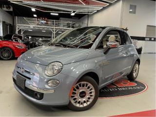 Used 2015 Fiat 500 C LOUNGE I CONVERTIBLE I COMING SOON for sale in Vaughan, ON