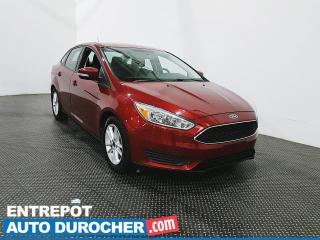 Used 2015 Ford Focus SE Climatiseur - Caméra de recul for sale in Laval, QC