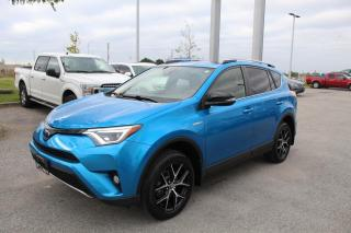 Used 2018 Toyota RAV4 2.5L Limited Hybrid for sale in Whitby, ON
