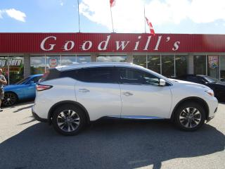 Used 2017 Nissan Murano CLEAN CARFAX! LOCAL TRADE! DECENT MILEAGE! for sale in Aylmer, ON