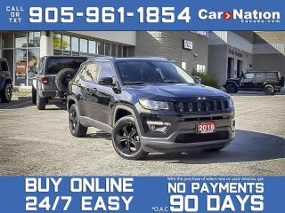 Used 2018 Jeep Compass Altitude 4x4| NAV| LEATHER| PANO ROOF| LOCAL TRADE for sale in Burlington, ON