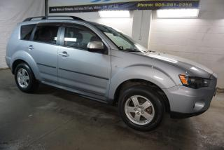 Used 2012 Mitsubishi Outlander ES CERTIFIED 2YR WARRANTY * SERVICE RECORDS* BLUETOOTH HEATED SEAT for sale in Milton, ON