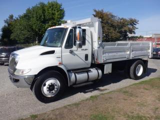 Used 2012 International 4300 Durastar Single Axel 14 Foot Dump Box Truck Diesel for sale in Burnaby, BC