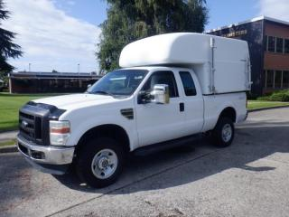 Used 2009 Ford F-250 SD XL SuperCab 4WD With Advantage Plus Canopy And Rear Shelving for sale in Burnaby, BC