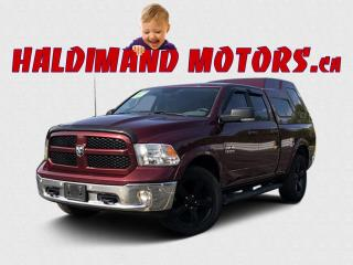 Used 2017 RAM 1500 SLT OUTDOORSMAN QUAD CAB 4WD for sale in Cayuga, ON