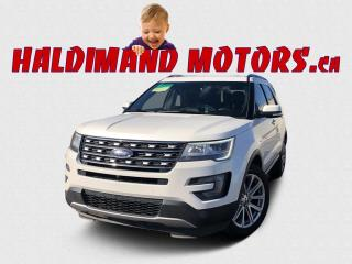 Used 2017 Ford Explorer Limited 4WD for sale in Cayuga, ON