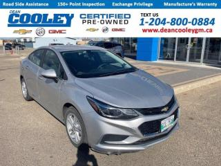 Used 2017 Chevrolet Cruze LT for sale in Dauphin, MB