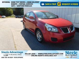 Used 2009 Pontiac Vibe BASE-FRESH MVI and READY TO RIDE !! LOW KMS  !! for sale in Kentville, NS