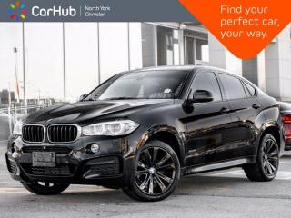 Used 2016 BMW X6 xDrive35i Heated Seats & Wheel Active Assists Sunroof Harman Kardon for sale in Thornhill, ON