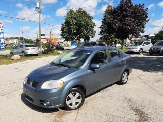 Used 2009 Pontiac G3 Wave ~~CERTIFIED~~ ~~3 Years of Warranty~~ ~~NO ACCIDE for sale in Kitchener, ON