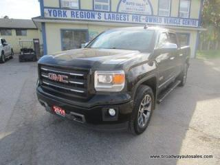 Used 2015 GMC Sierra 1500 GREAT VALUE SLE-ALL-TERRAIN-EDITION 5 PASSENGER 5.3L - V8.. 4X4.. CREW-CAB.. SHORTY.. TRAILER BRAKE.. HEATED SEATS.. BACK-UP CAMERA.. POWER PEDALS.. for sale in Bradford, ON