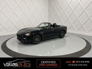 Used 2017 Fiat 124 Spider Abarth ABARTH| AUTO for sale in Vaughan, ON
