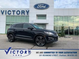 Used 2018 Lincoln MKC Reserve   PANORAMIC SUNROOF   NAV   HEATED SEATS for sale in Chatham, ON