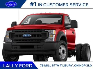 New 2022 Ford F-550 Chassis XLT for sale in Tilbury, ON