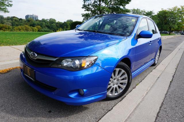 2010 Subaru Impreza 1 OWNER / NO ACCIDENTS / MANUAL / SUNROOF / CLEAN