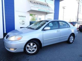 Used 2006 Toyota Corolla LE Automatic, Remote Start, Bluetooth, Extra Clean for sale in Langley, BC