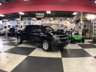 Used 2018 Chevrolet Silverado 1500 WORK TRUCK CREWCAB 4WD BLUETOOTH TOW PKG for sale in North York, ON
