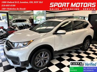 Used 2020 Honda CR-V Sport AWD+Adaptive Cruise+LaneKeep+CLEAN CARFAX for sale in London, ON