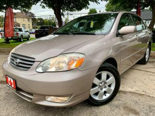 Used 2003 Toyota Corolla LE for sale in Guelph, ON