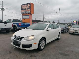Used 2009 Volkswagen Jetta Wagon HIGHLINE*LEATHER*SUNROOF*AUTO*ALLOYS*CERTIFIED for sale in London, ON