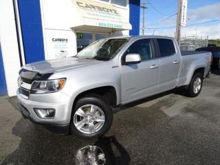 Used 2018 Chevrolet Colorado LT 4x4, DIESEL, Crew Long, Safety Pkg, Box Cover for sale in Langley, BC