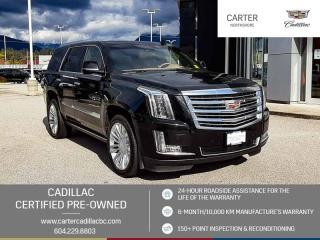 Used 2017 Cadillac Escalade Platinum NAVIGATION - DVD PKG - MOONROOF for sale in North Vancouver, BC