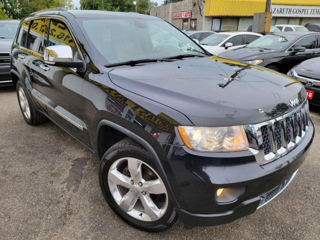 2012 Jeep Grand Cherokee Overland/NAVI/LEATHER/ROOF/LOADED/ALLOYS++