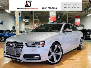 Used 2015 Audi S4 Technik Plus | Blind Spot | SOLD ! for sale in North York, ON