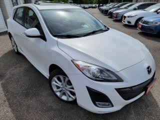 Used 2010 Mazda MAZDA3 GT/AUTO/LEATHER/ROOF/LOADED/ALLOYS++ for sale in Scarborough, ON