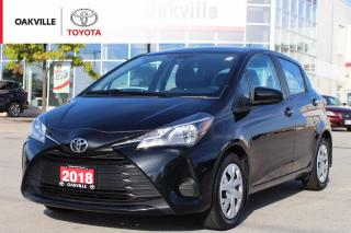 Used 2018 Toyota Yaris LE with New Front Brakes and Clean Carfax for sale in Oakville, ON
