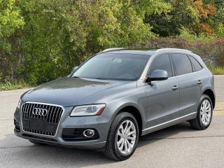 Used 2015 Audi Q5 2.0T Progressiv Navigation /Pano Roof/Camera for sale in North York, ON