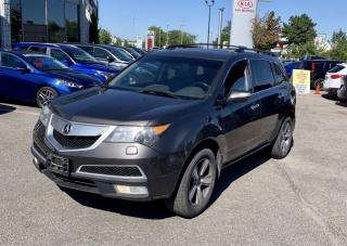 Used 2012 Acura MDX TECH PKG AWD NAVIGATION/CAMERA/DVD/7 PASS for sale in North York, ON