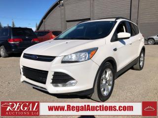 Used 2013 Ford Escape SE 4D Utility AWD for sale in Calgary, AB