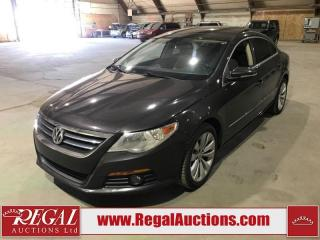 Used 2010 Volkswagen Passat CC Sportline 4D Coupe 2.0 TSI for sale in Calgary, AB