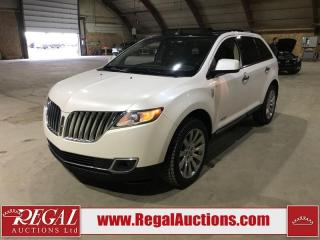 Used 2011 Lincoln MKX 4D Utility AWD for sale in Calgary, AB