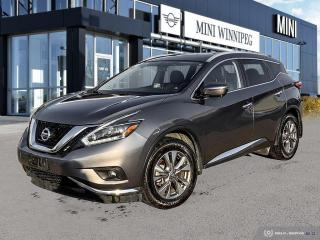 Used 2018 Nissan Murano SL Accident Free! for sale in Winnipeg, MB