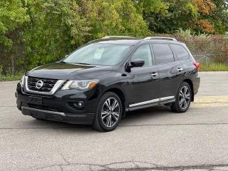 Used 2017 Nissan Pathfinder PLATINUM 4X4 NAVIGATION/360 CAMERA/DVD/7 PASS for sale in North York, ON