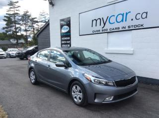 Used 2017 Kia Forte LX+ BACKUP CAM. HEATED SEATS. A/C. POWER GROUP. for sale in Richmond, ON